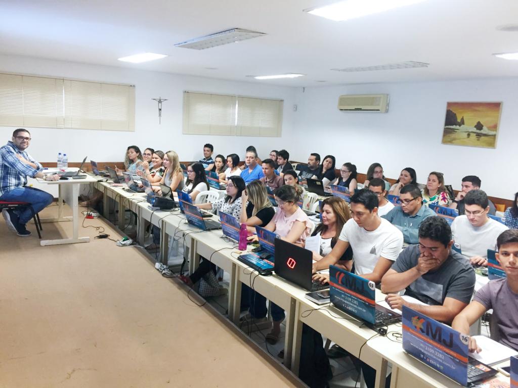 Início do curso Excel do Básico ao Intermediário - Turma XII - I