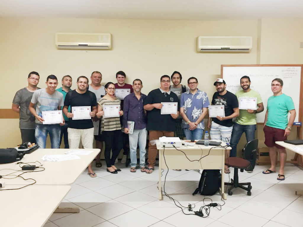 Encerramento do curso Excel Dashboards - Turma III - I