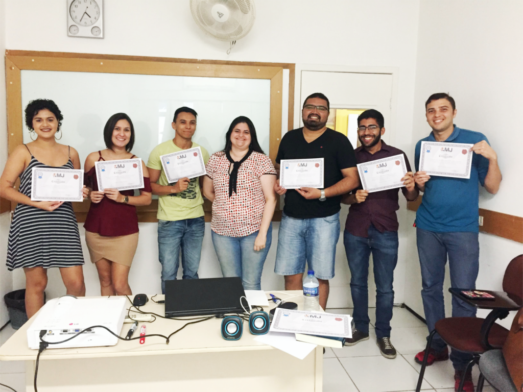 Foto de Encerramento do curso Trade Marketing - Turma I