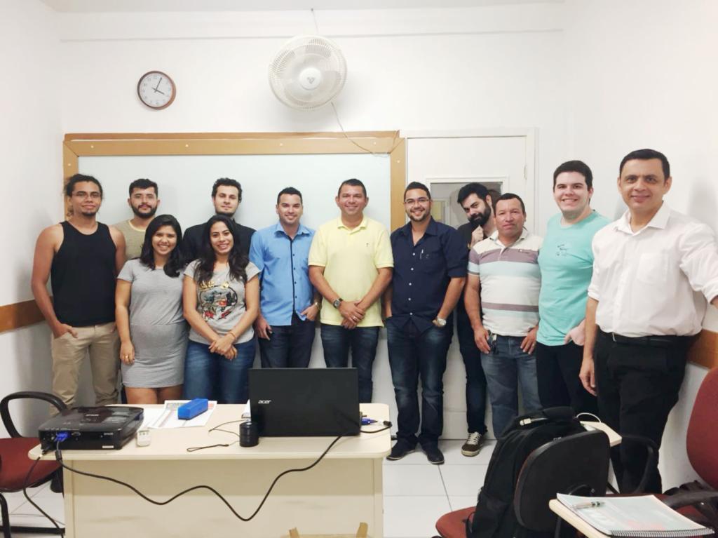 Início do curso Marketing Político e Eleitoral - Turma VII - 1