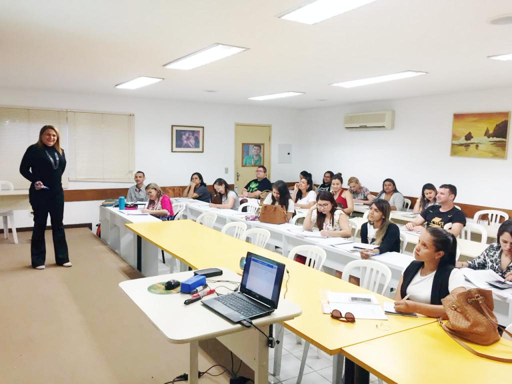 Início do curso Leis e Cálculos Trabalhistas - Turma V - I