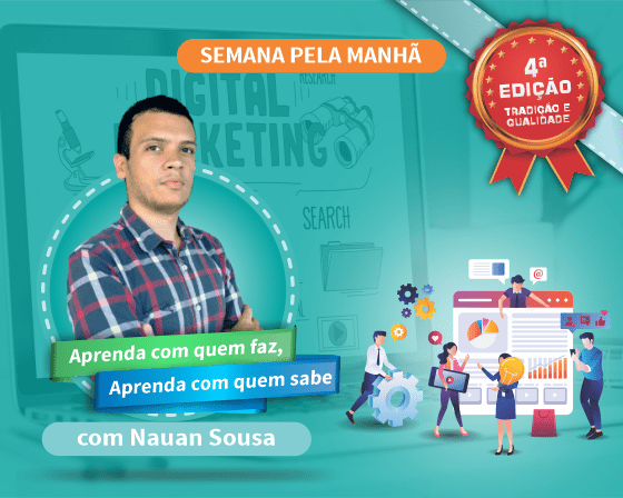 Curso Planejamento de Marketing Digital com Nauan Sousa