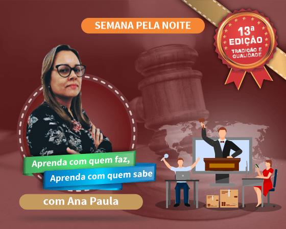 Curso Pregão Presencial e Eletrônico com Ana Paula