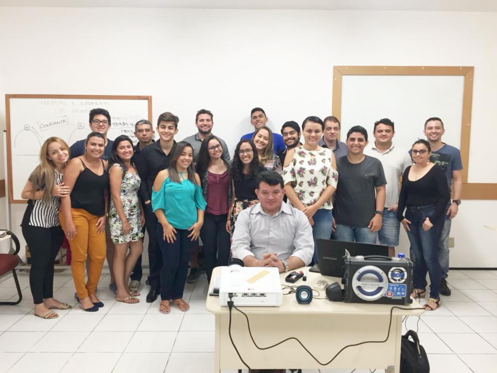 Início do curso Técnicas e Estratégias em Negociação - Turma V - 1