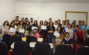 Turma do curso Gestão e Estratégia em Mídias Sociais Março 2015
