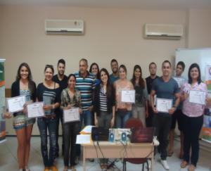 Turma do curso Gestão e Estratégia em Mídias Sociais Outubro 2014