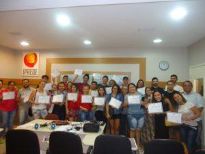 Turma do curso Gestão e Estratégia em Mídias Sociais da MJ Capacitações