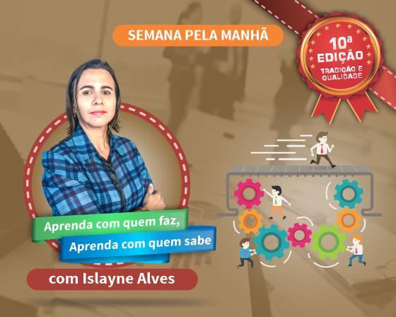 Curso Ferramentas e Gestão da Qualidade com Islayne Alves