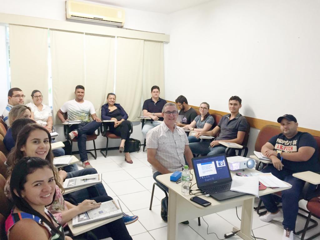 Início do curso Planejamento e Gestão da Logística - Turma I - I