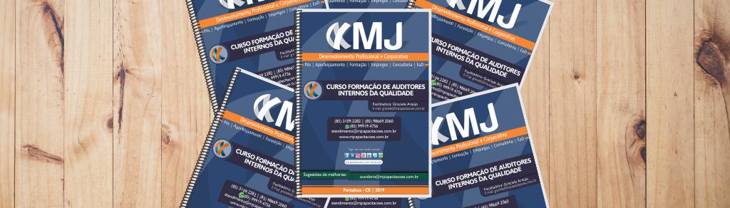 Apostila do Curso Formação de Auditores Internos da Qualidade com Graciele Araújo
