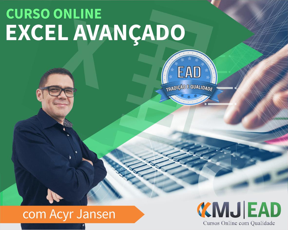 Curso Online de Excel Avançado com Acyr Jansen