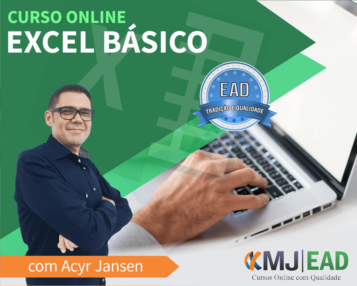 Curso Online de Excel Básico com Acyr Jansen