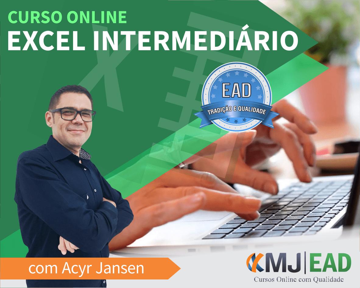Curso Online de Excel Intermediário com Acyr Jansen