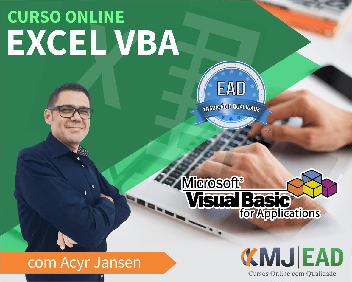 Curso Excel VBA com Acyr Jansen