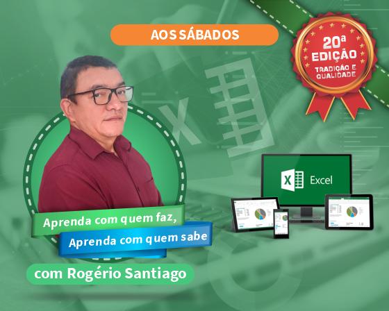 Curso Excel Básico com Rogério Santiago